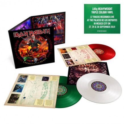 Nights Of The Dead, Legacy Of The Beast: Live In Mexico City (Triple Colored Vinyl)