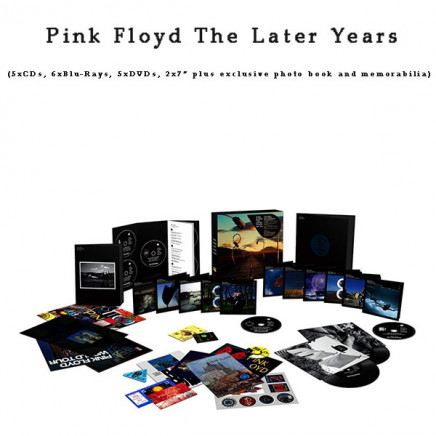 The Later Years (Limited Edition Boxed Set -5CD's / 6 Blu-ray's / 5 DVD's & 2 x Vinyl 7 inch Singles)