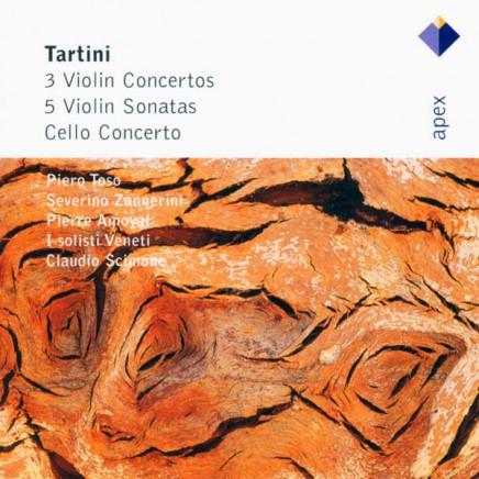 3 Violin Concertos & 5 Violin Sonatas