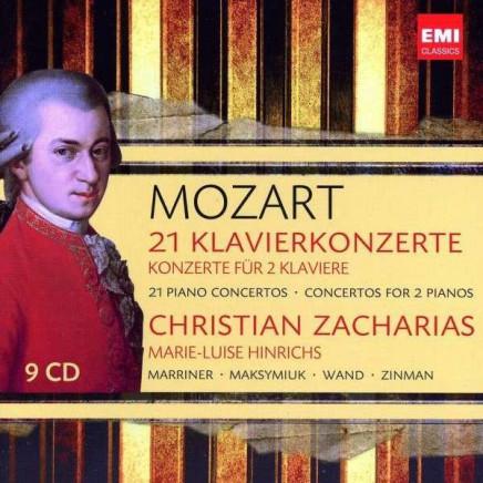 21 Piano Conceros & Concertos For 2 Pianos