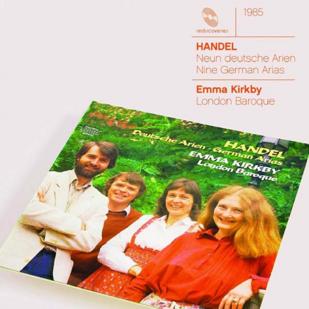 9 German Arias HWV 202-210