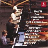 Concertos For 3 & 4 Pianos