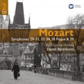 Symphonies No.29-31, 33, 34, 38 'Prague' & 39