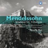 Symphonies No.3-5, 5 Overtures