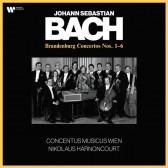 Bach: Brandenburg Concertos Nos. 1 - 6 (Vinyl)