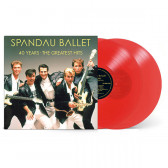 40 Years - The Greatest Hits (Limited Ruby Red) (Vinyl)
