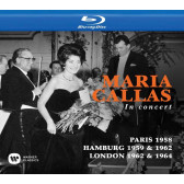 Maria Callas In Concert - Paris 1958, Hamburg 1959 & 1962, London 1962 & 1964