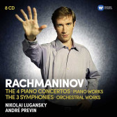The Four Piano Concertos, Three Symphonies & Orchestral Works