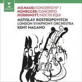 Milhaud, Honegger, Hoddinott - Cello Concertos & Noctis Equi