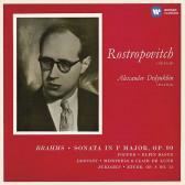 Brahms - Cello Sonata No.2, Popper, Debussy, Scriabin