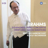 The 4 Symphonies, Overtures, Haydn Variations, Piano Concertos