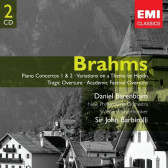Piano Concertos No.1 & 2, Variations On A Theme By Haydn, Tragic Overture, Academic Festival Overture