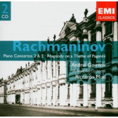 Piano Concertos 2 & 3, Rhapsody On A Theme Of Paganini