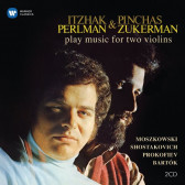 Itzhak Perlman & Pinchas Zukerman Plays Music For Two Violins