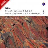 Organ Symphonies 1-6 & 9