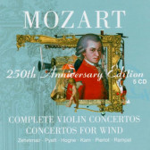 Complete Violin Concertos, Concertos For Wind