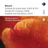 Piano Duets, Kv448, 501, 521, 381