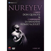 Nureyev as Dancer 'Don Quixote' & as Choreographer 'La Bayadere' & 'Romeo & Juliet'