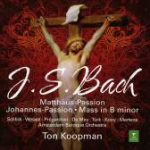 St Matthew Passion, St John Passion, B minor Mass