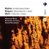 Kindertotenlieder, Wesendonck-Lieder, 3 Lieder