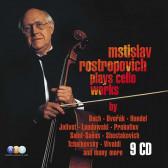 Rostropovich Plays Cello Works