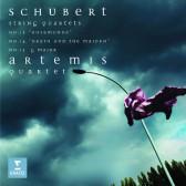 String Quartets No.13 'Rosamunde', No.14 'Death And The Maiden' & No.15 'Quartet In G Major'
