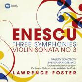 Three Symphonies, Violin Sonata No.3 (20th Century Classics)