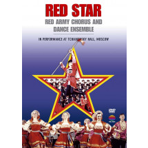 Red Star Red Army Chorus & Dance Ensemble In Performance At Tchaikovsky Hall, Moscow