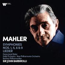 Mahler: Symphonies Nos. 1, 5, 6, 9, Lieder