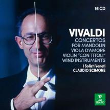 """Concertos For Mandolin, Viola d'Amore, Violin """"Con Titoli"""" & Wind Instruments"""