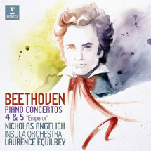 Piano Concertos 4 & 5 'Emperor' (Live)