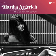 Martha Argerich Live From The Concertgebouw (Vinyl)