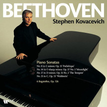 Beethoven: Piano Sonatas Nos. 8, 14, 17 & 21, Bagatelles Op. 126 (Vinyl)