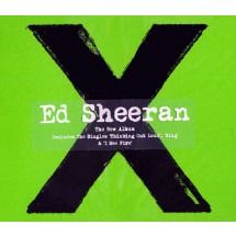 x (Multiply) (Deluxe Edition + 4 bonus track's)