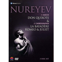 Nureyev as Dancer 'Don Quixote' & as Choreographer 'La Bayadere' & 'Romeo & Juliet'