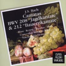 Cantatas BWV 208 & 212