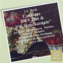 Cantatas BWV 208 & 206