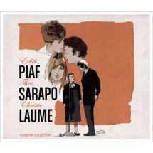 Platinum Edith Piaf, Théo Sarapo & Christie Laume