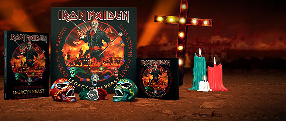 Iron Maiden 'Night Of The Dead - Live In Mexico City'