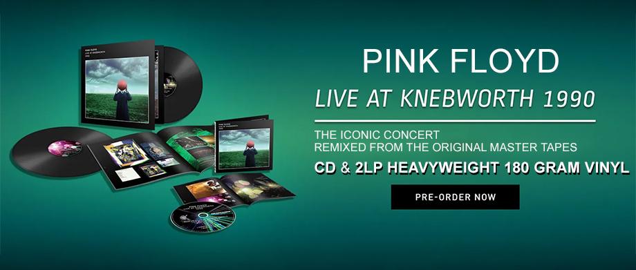 Pink Floyd 'LIVE AT KNEBWORTH 1990'